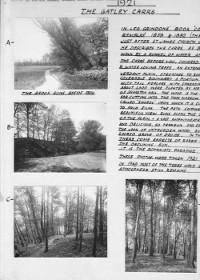 Photographs of Gatley Carrs as it was in 1921