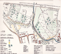1934 map of Gatley Carrs